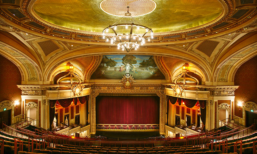The Hippodrome Theater Interior