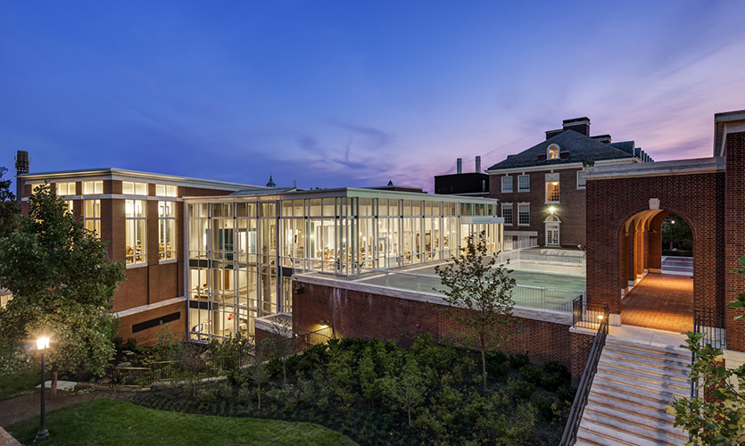 John Hopkins University, Eisenhower Library Extension